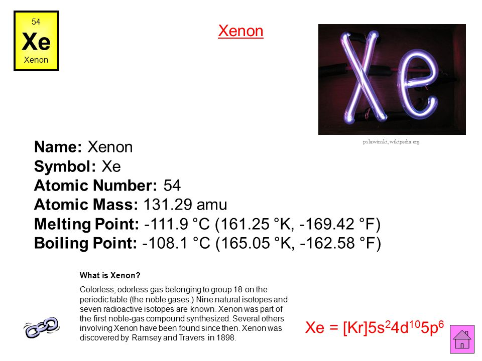Xe on the periodic table j ole periodic table urtaz Images