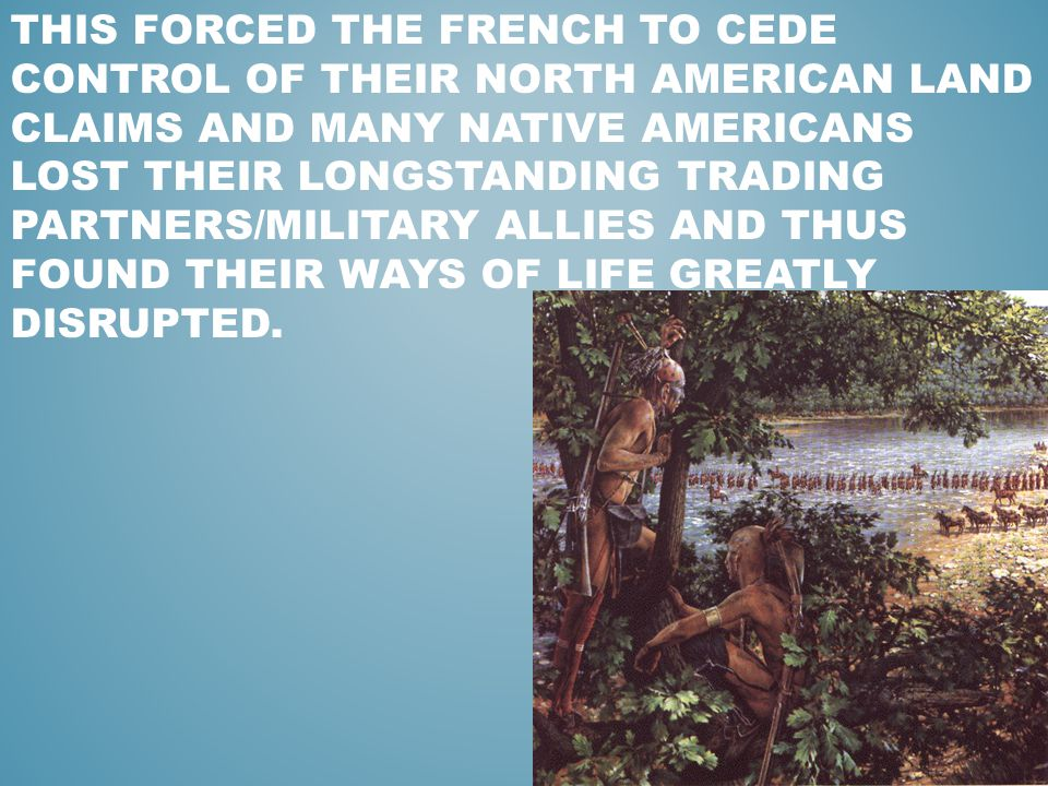 french and native americans relationship with nature