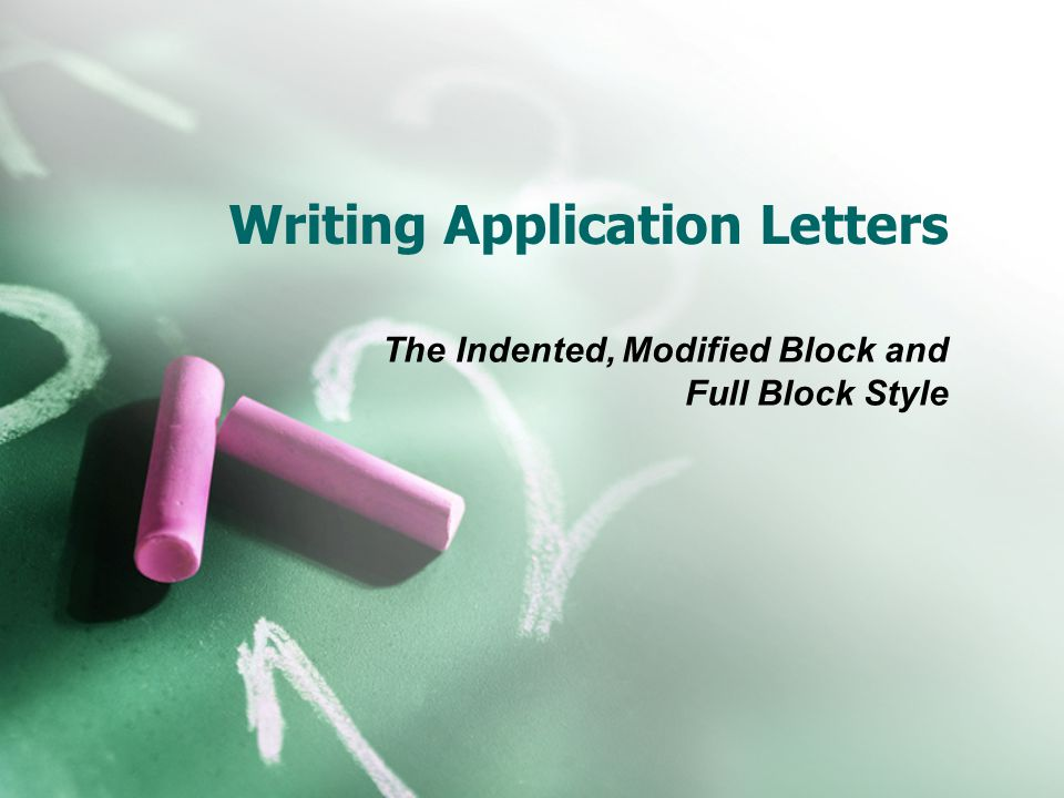 writing application letters Whatever you want to get done, you need to write an application letter to get your issue known whether you are applying for a job, wishing a leave from your employer, or doing any kind of correspondence with any authority, you need to write an application letter.