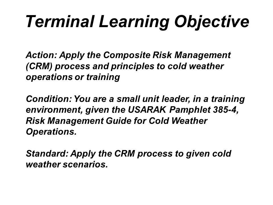 Cold Weather Risk Management - ppt video online download