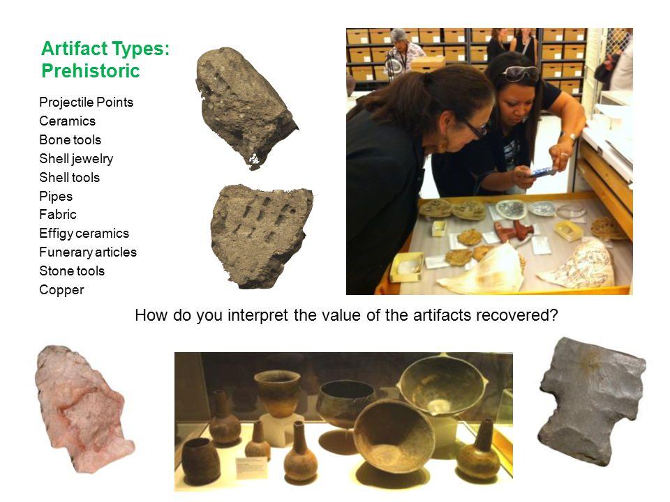 Artifact Types: Prehistoric