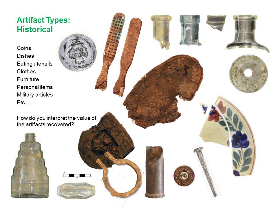 Artifact Types: Historical