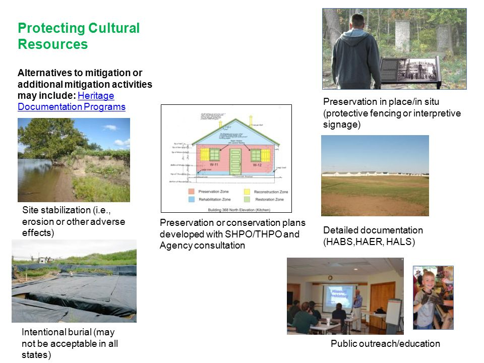 Protecting Cultural Resources