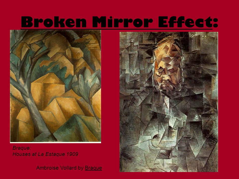 Broken Mirror Effect: Three Musicians Braque:
