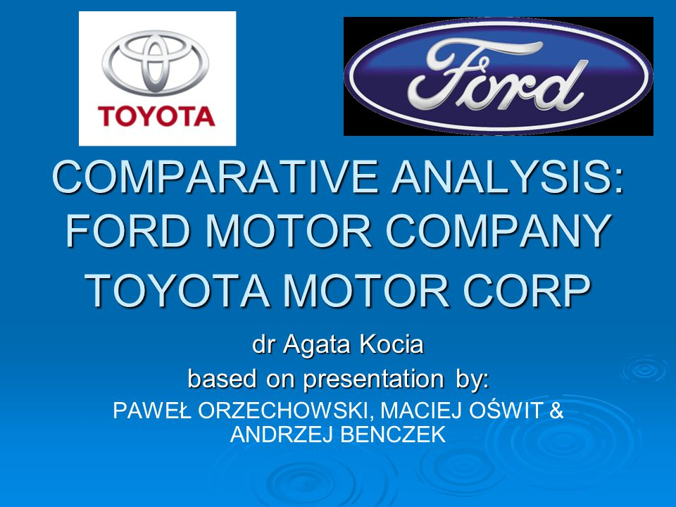 what are the strengths and weaknesses of toyota motor company Toyota motor corporation - strategy, swot and corporate finance report, is a source of comprehensive company data and information the report covers the company's structure, operation, swot analysis, product and service offerings and corporate actions, providing a 360˚ view of the company.