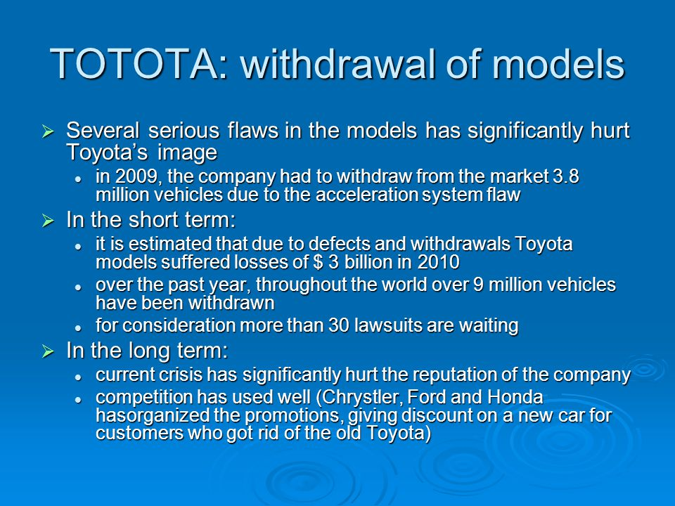 a comparative analysis of toyota and Title comparing and analyzing financial statements opinnäytetyön nimi comparing and analyzing financial statements to make trend analysis of toyota.