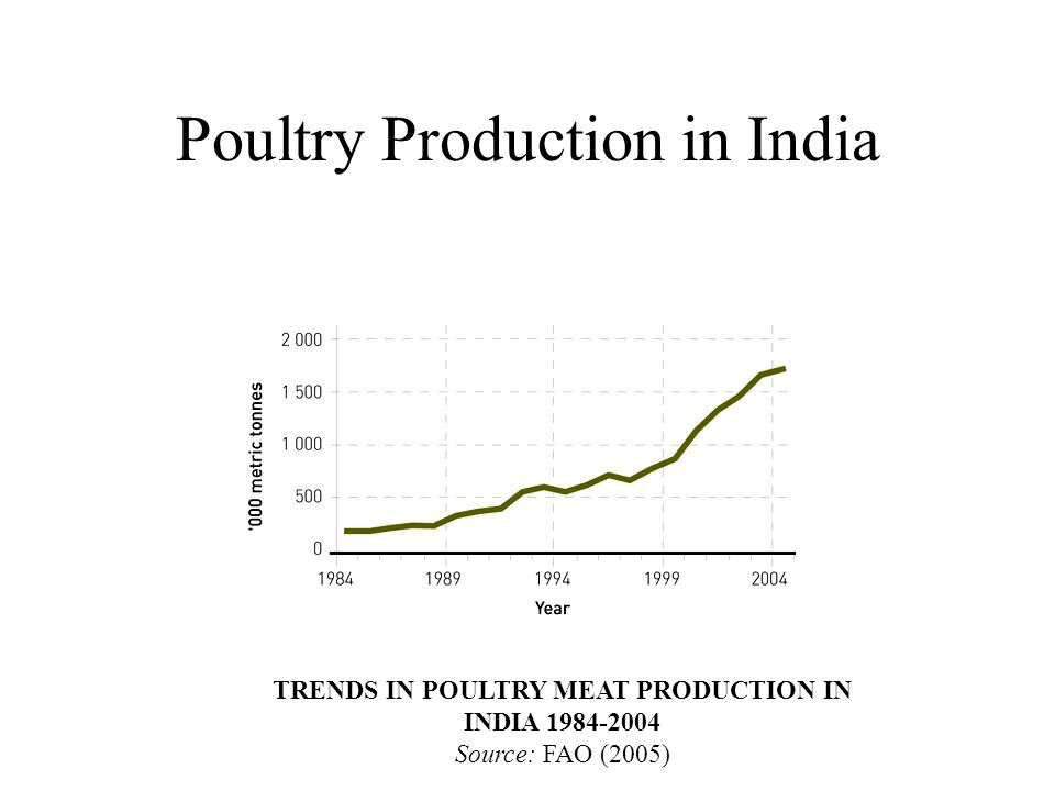 Poultry Production in India