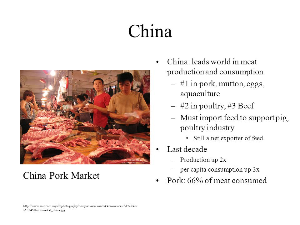 China China Pork Market