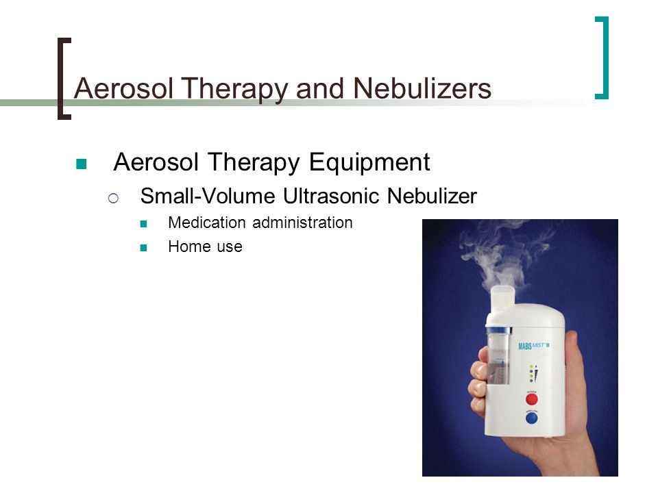 Nebulizer medication distribution