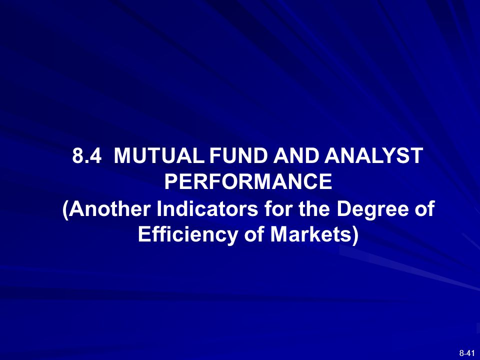 The Efficient Market Hypothesis ppt download – Mutual Fund Analyst
