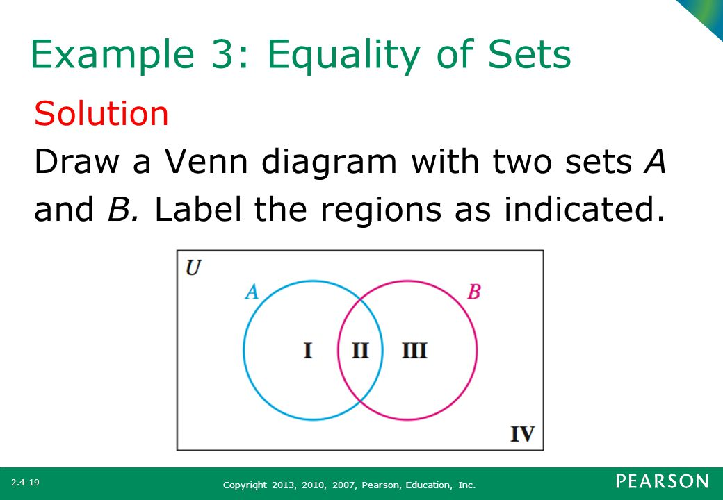 what you will learn venn diagram with three sets