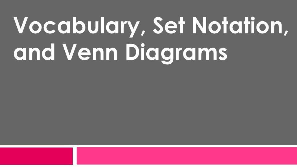 Set Notation Venn Diagram Vatozozdevelopment