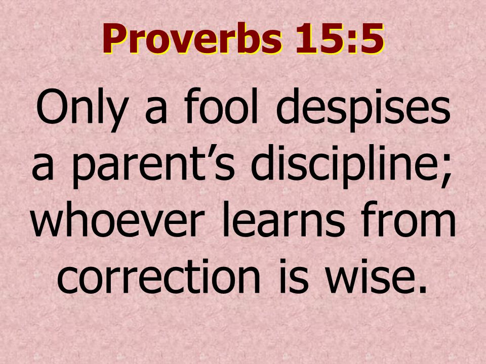 Image result for Proverbs 15:5