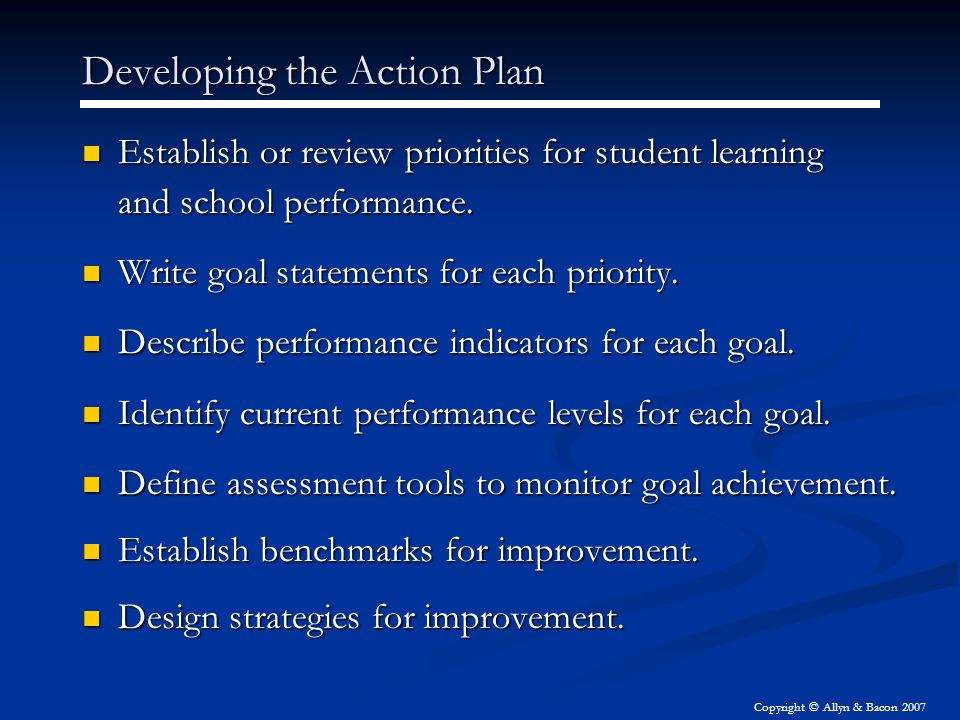 priorities for academic goals In writing my first president's column for aannews, i cannot help but reflect on  how far we have come as a professional organization and how much work we  still.