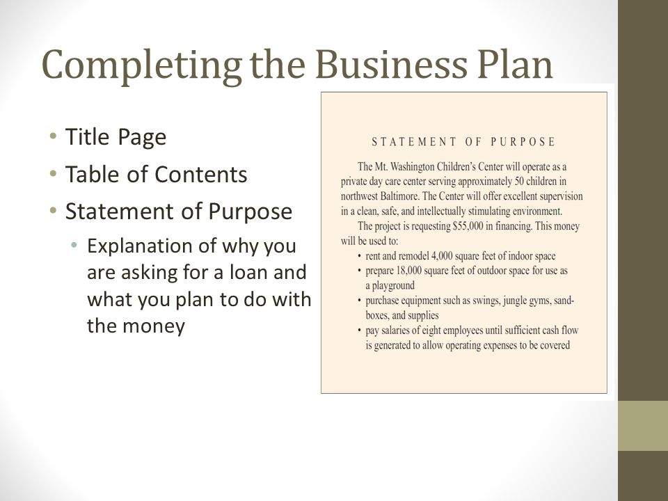 A Sample Micro Lending Business Plan Template