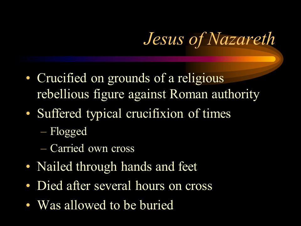 a study of jesus of nazareth The words of jesus offers a new and concise reading of the essential message and teachings of jesus of nazareth in many translations this site also features a wide variety of christian orientated reading.