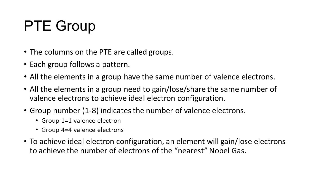 Periodic table group 1 images periodic table images periodic table of the elements practice problems ppt download pte group the columns on the pte gamestrikefo Images