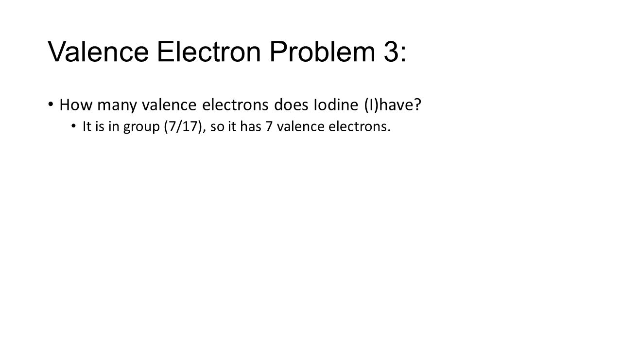 Periodic table of the elements practice problems ppt download 5 valence gamestrikefo Gallery