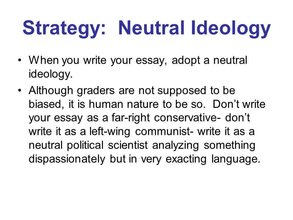 ap essay tips ppt video online  strategy neutral ideology