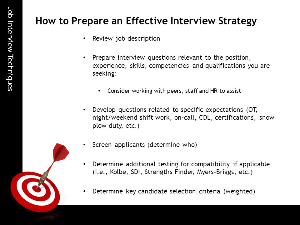 how to teach job interview skills