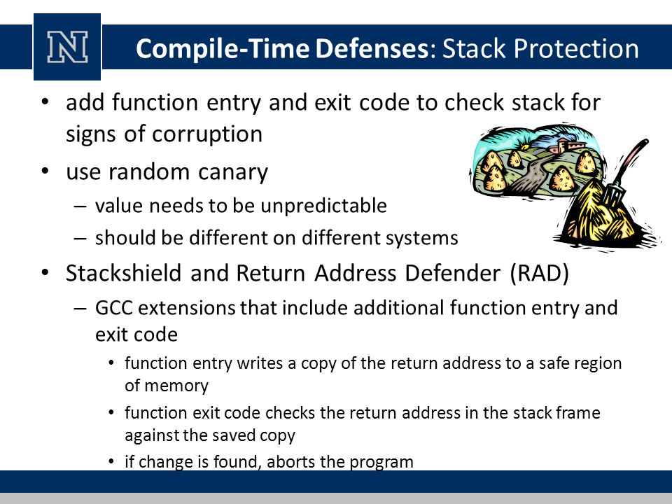 Compile-Time Defenses: Stack Protection