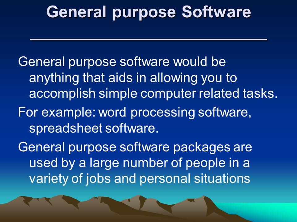 Application Software Ppt Video Online Download