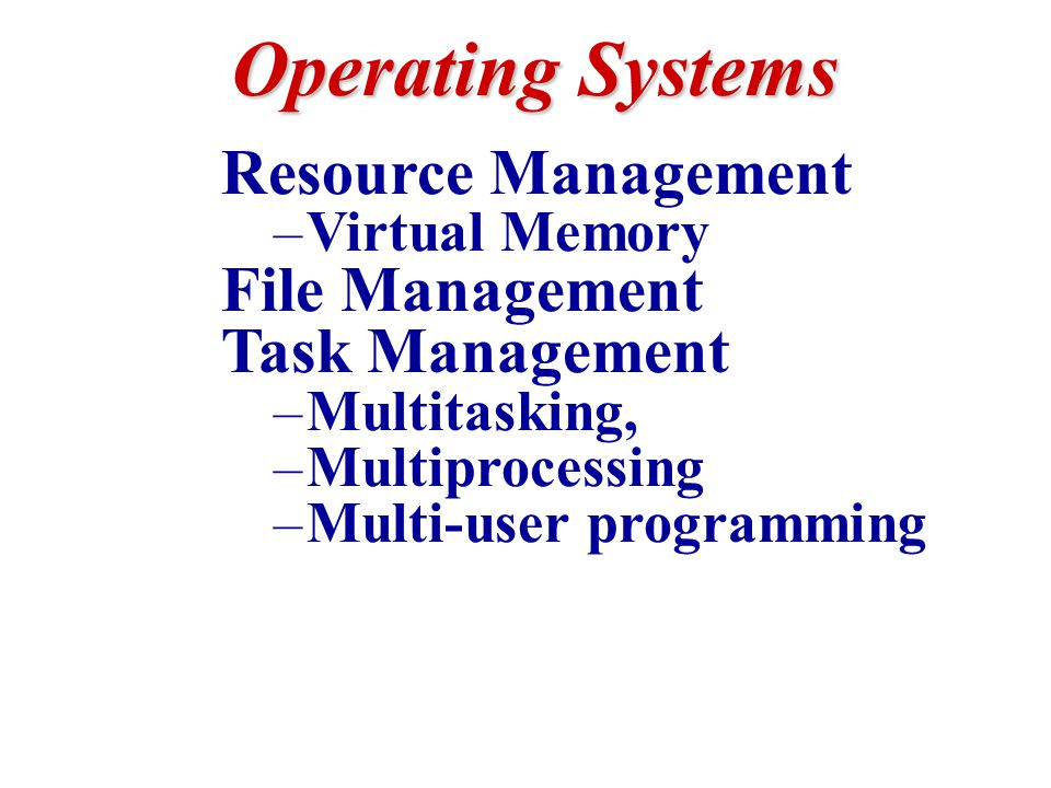 Compare & Contrast Network Operating Systems