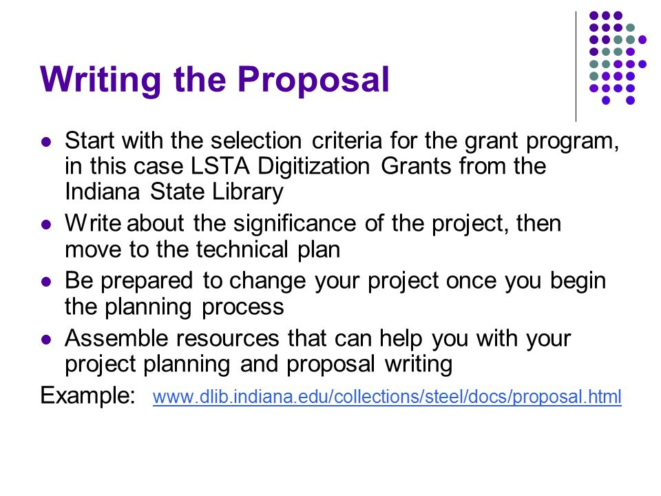 the importance of writing a project proposal