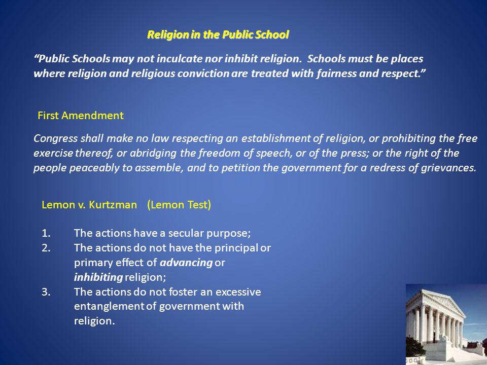 Religion in Public Schools: 7 Religious Things You Can Still Do