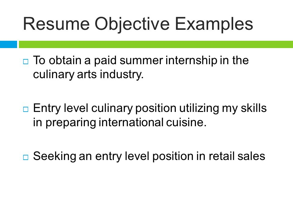 Download Resume Objective Entry Level toubiafrance com