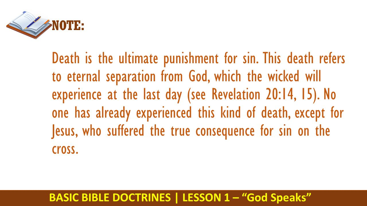 gods punishment on a wicked bishop Satan's power to blind people to the truth facing the truth most people only want comforting lies the lost the punishment of the wicked is from god leviticus 26:18 `if after all this you.