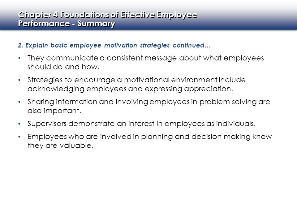 Supervisors demonstrate an interest in employees as individuals.