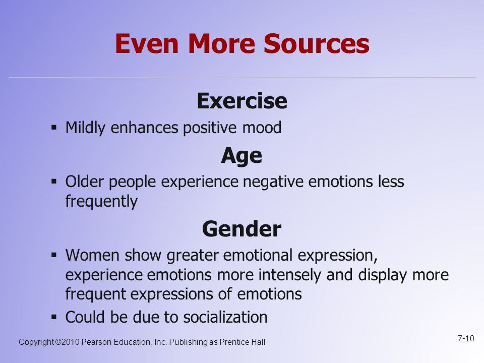 how age and gender affect exercise Physical exercise as a health-ensuring necessity over age, gender, occupation and affective status cannot be overestimated (garciaetal,2012 palomoetal,2008)nevertheless, the prevailing situation among youth populations suggests that these.