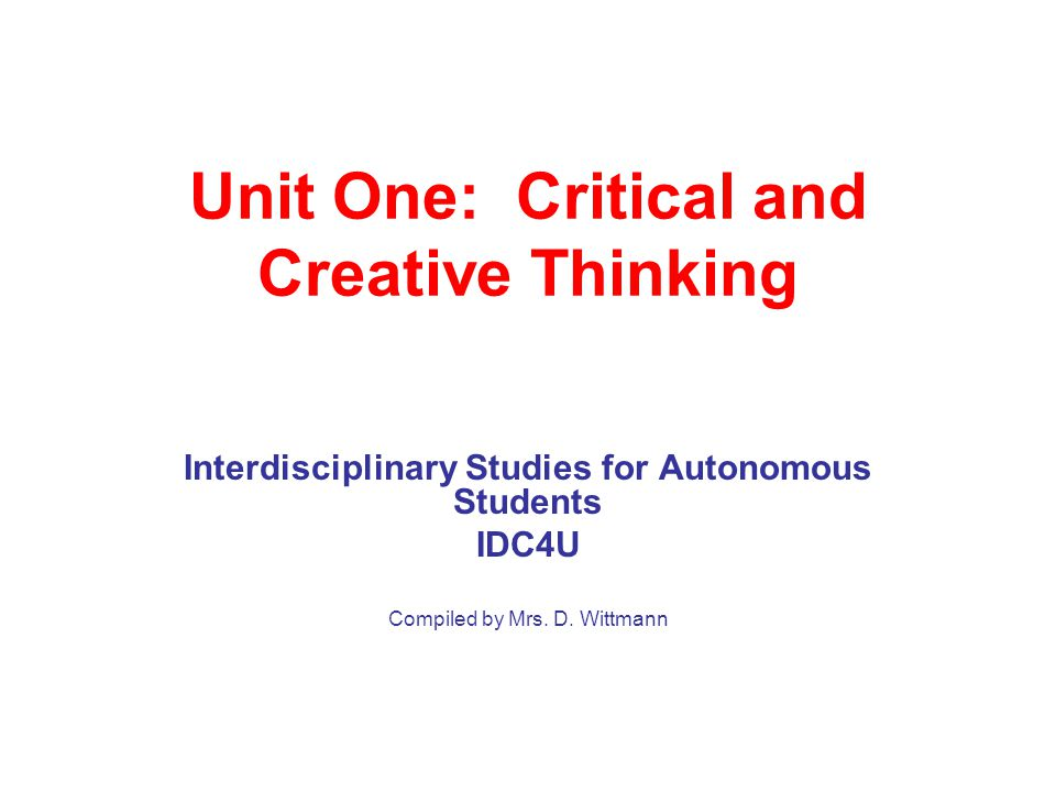 critical thinking and creativity ppt Creative thinking powerpoint template is a free powerpoint template design for creativity and creative ideas in microsoft powerpoint presentations.