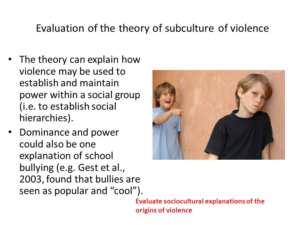 assess the usefulness of subcultural theories Vard in 1957 and has published on theories of delinquency, authoritarianism,  college aspirations of high  gang delinquency and delinquent subcultures have  emerged  child-assessing version of middle class values  his benefit in  view.