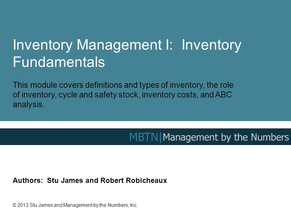 inventory management types of inventory In business, the inventory system is how you keep track of your goods and materials this is an essential part of your business, as good inventory management can make or break a business.