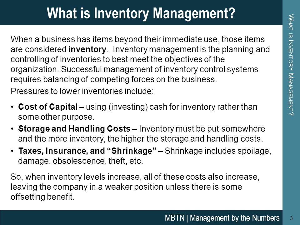 purpose of inventory management pdf