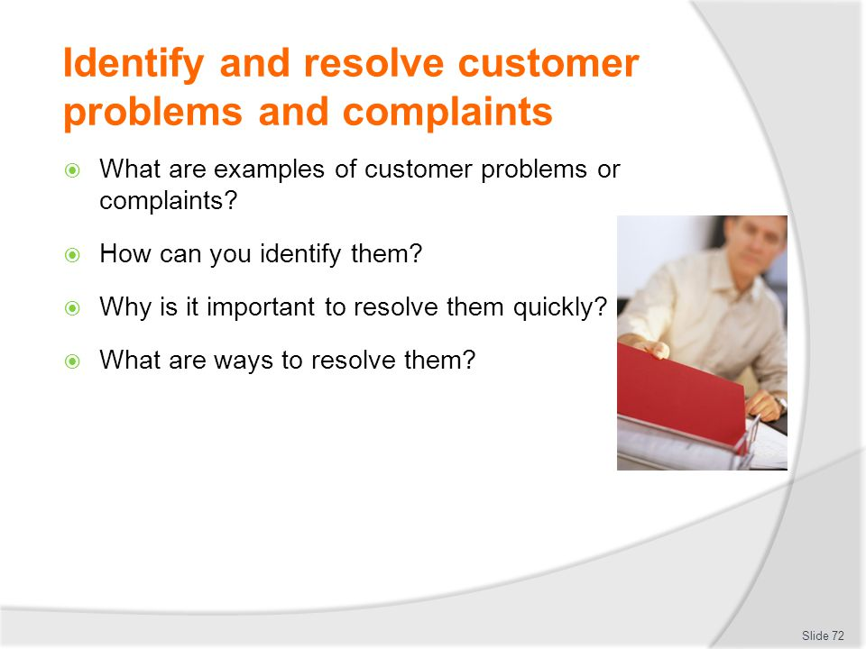 how to solve customer complaints