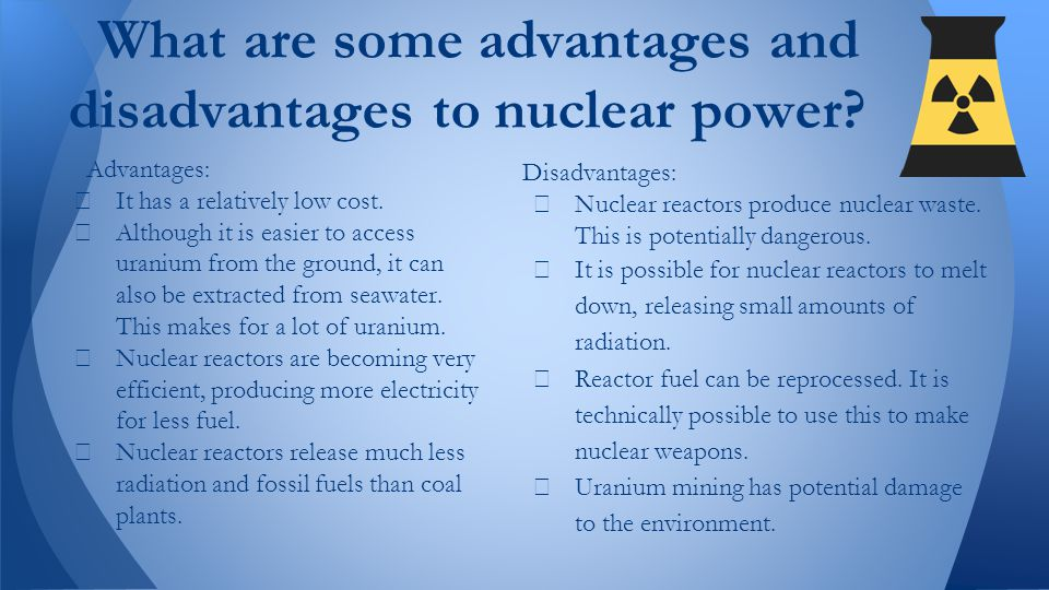 Nuclear Technology Advantages And Disadvantages Essay