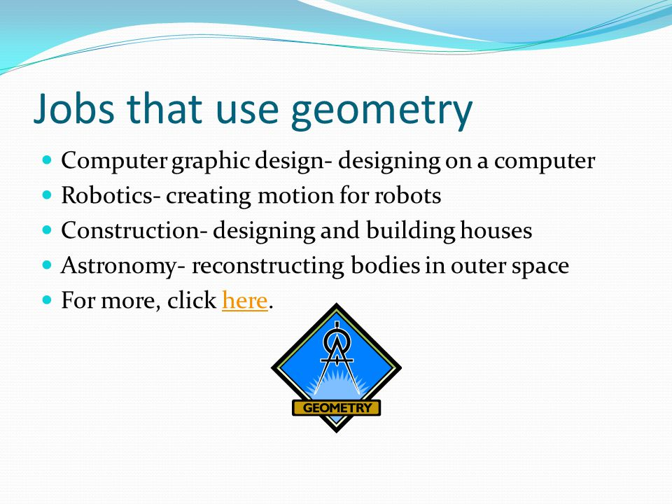 The study of shapes and figures ppt video online download for Jobs in outer space