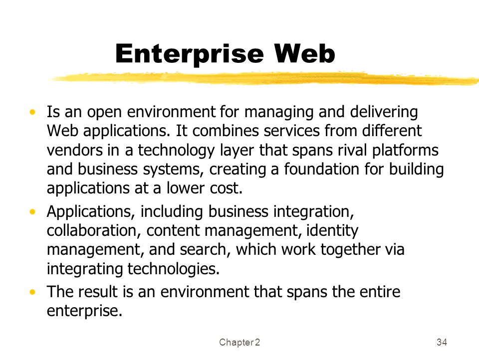Enterprise Web