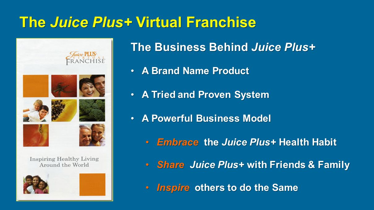 The Wellness Movement & Juice Plus+ - ppt download