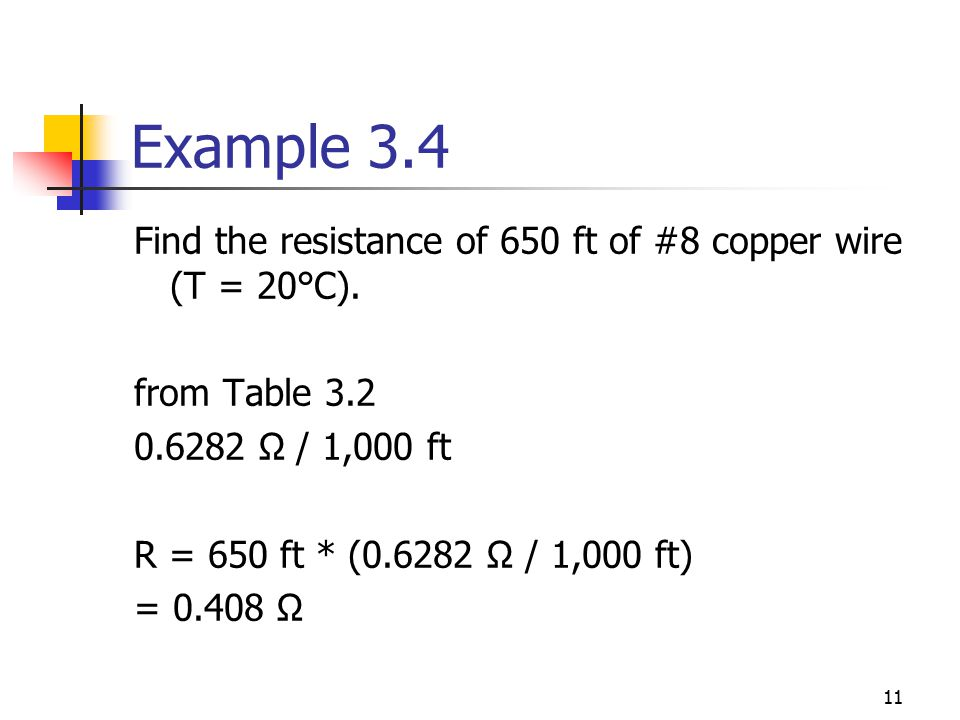 Chapter 3 resistance ecet 1010 fundamentals ppt download example 34 find the resistance of 650 ft of 8 copper wire t keyboard keysfo Gallery