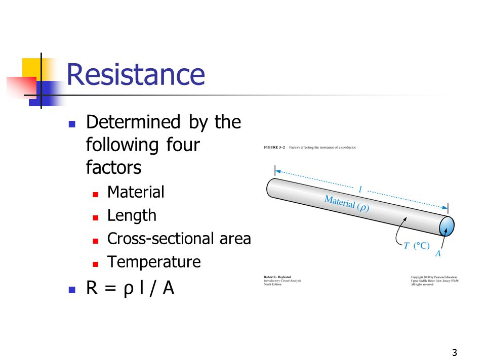 Chapter 3 resistance ecet 1010 fundamentals ppt download 3 resistance determined by the greentooth Image collections
