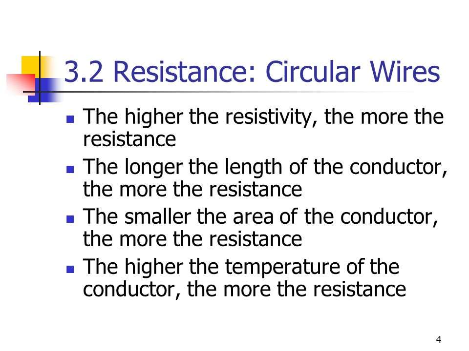 Chapter 3 resistance ecet 1010 fundamentals ppt download 32 resistance circular wires greentooth Image collections