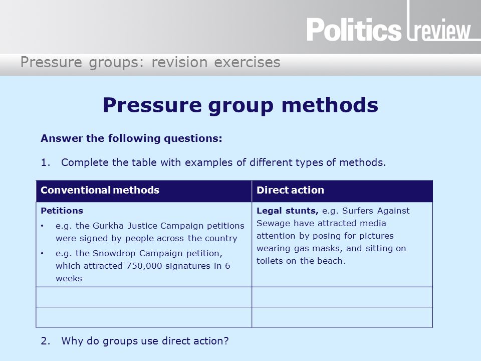 why might different pressure groups use Peer pressure research paper ideas groups and topics where peer pressure has been in terms of drug use, and postulate as to why this might be.
