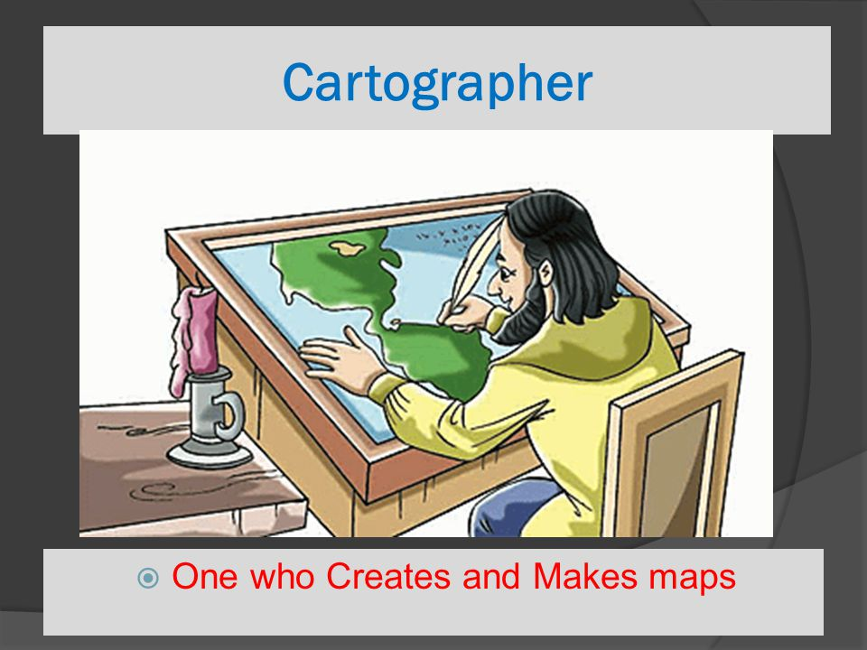 One who Creates and Makes maps