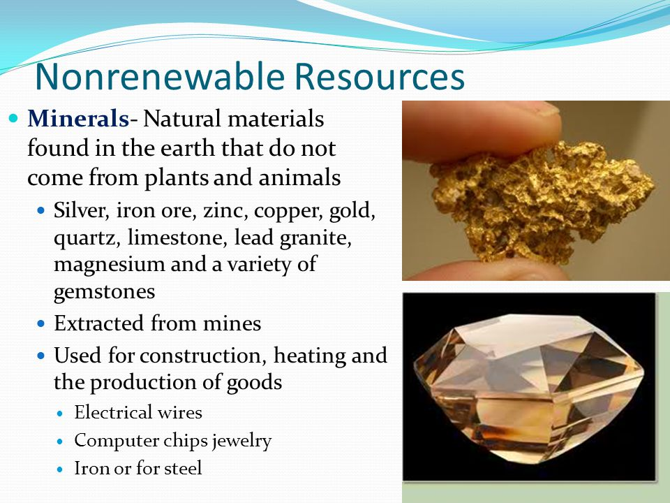 Computer Chips And Natural Resources