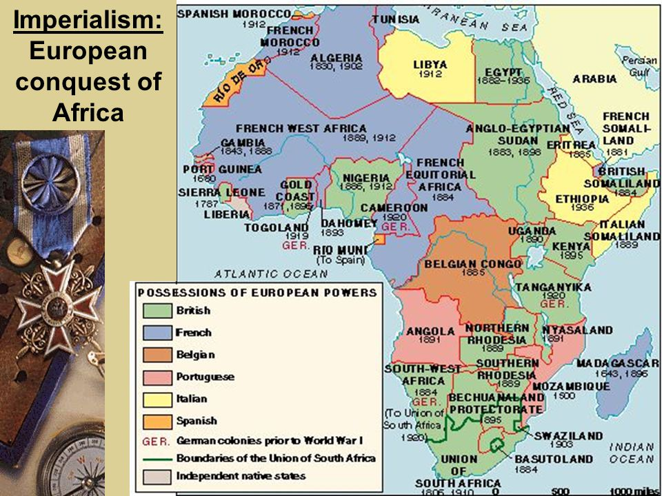 the european conquest of africa Europeans and africans had established relationships in a variety of settings for centuries, the  attempting to explain why europe conquered africa here, we.