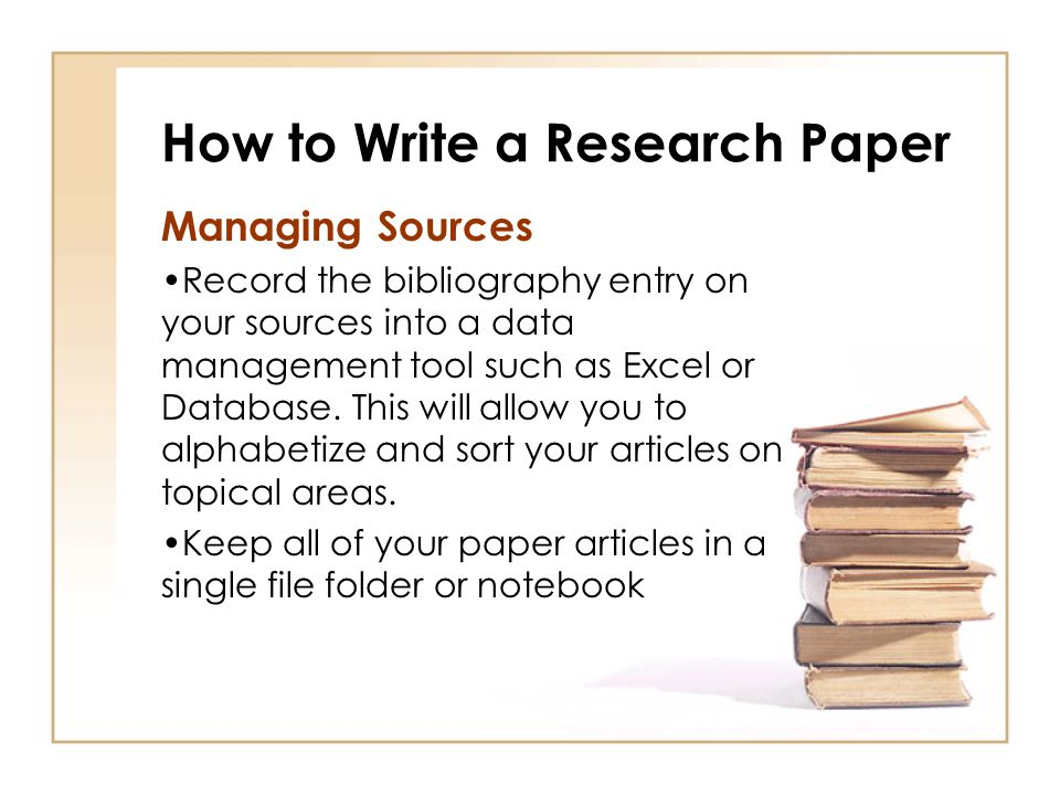 database of research papers